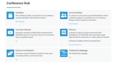 Virtual Conference Hub